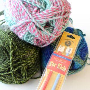 Kids Knitting Camp